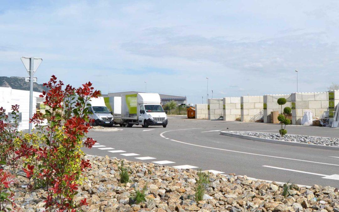 Une nouvelle déchetterie pour les professionnels à Portes-lès-Valence