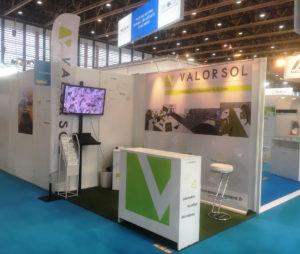 Stand Valorsol Environnement n°174 au salon Pollutec d'Eurexpo Lyon.