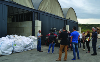 Les artisans du BTP à la découverte de la déchetterie de Portes-lès-Valence